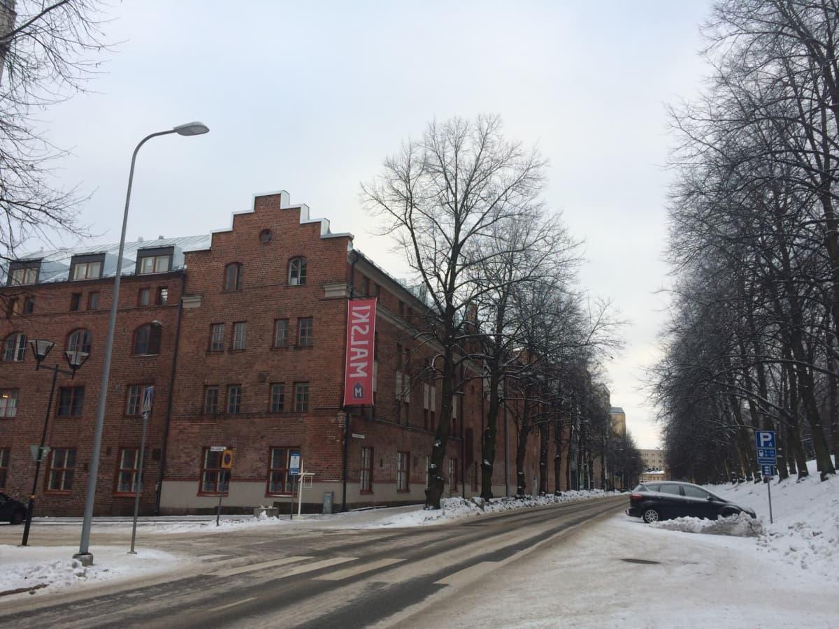 Lahden taide- ja muotoilukeskusta on kaavailtu sijoitettavaksi Malskin panimokortteliin.