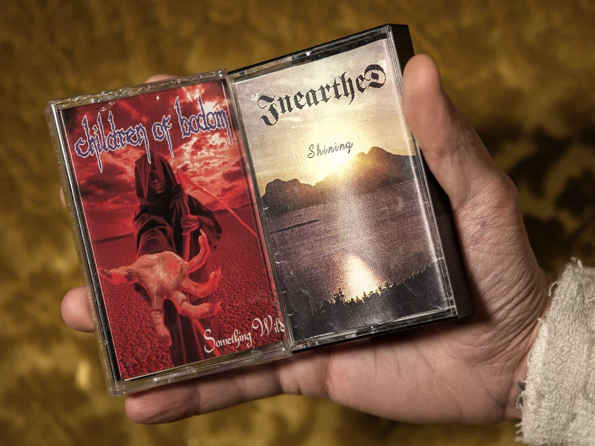 Anssi Kipon Children of Bodomin c-kasetti