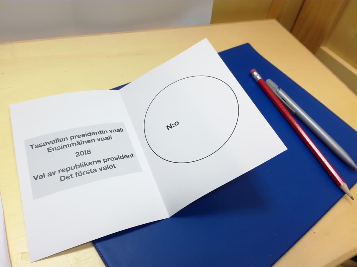 Äänestyslippu