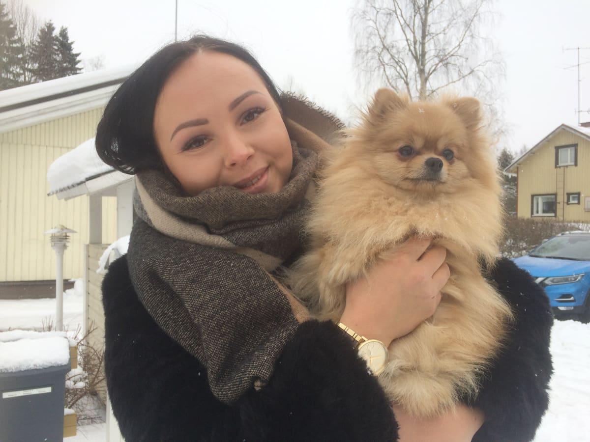 Pomeranian, koira, koiran omistaja