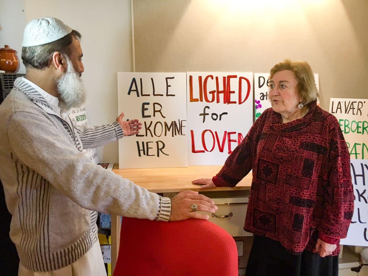 Muhammad Aslam ja Janni Milsted