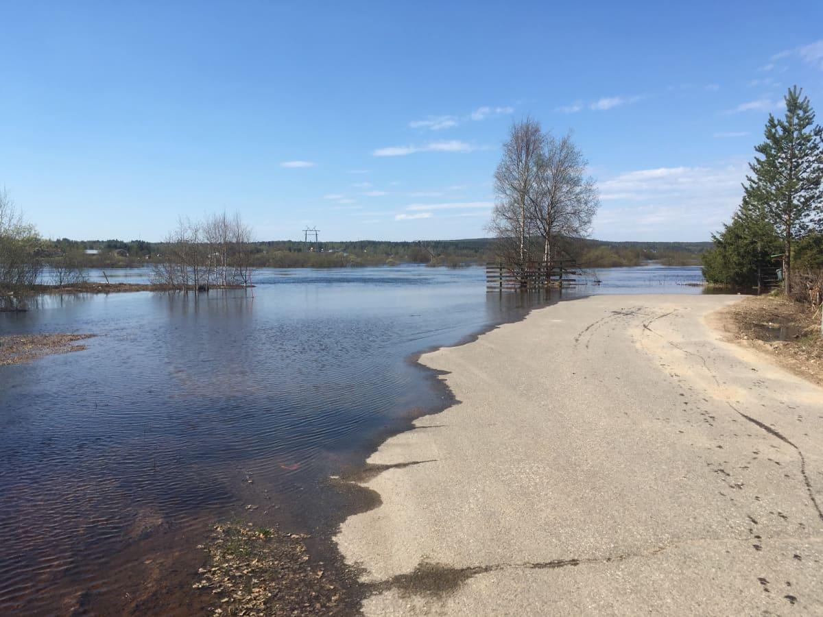 Kemijoki tulva Rovaniemi