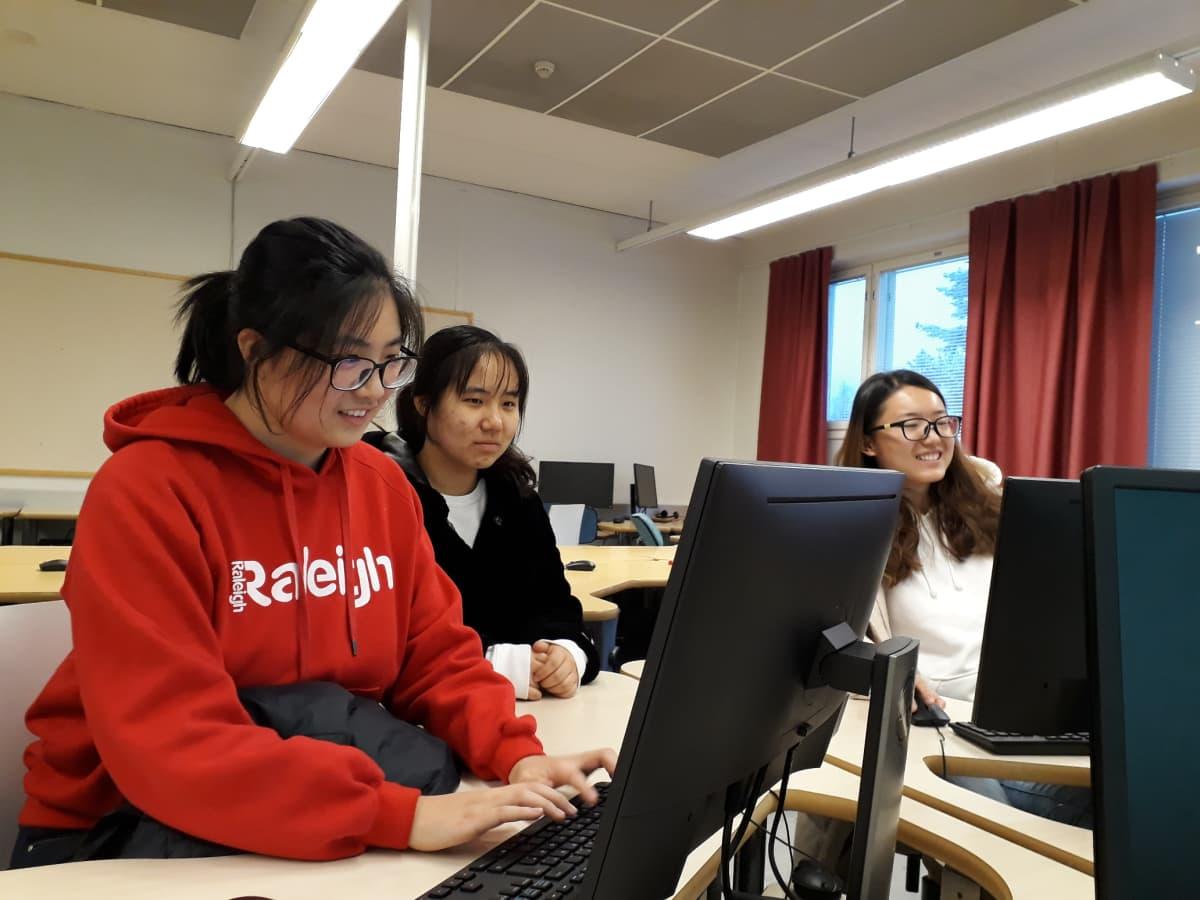 kiinalaisopiskelijat Lapin ammattikorkeakoulu