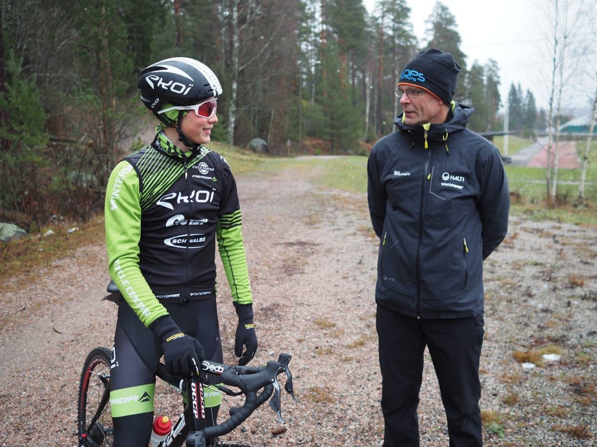 Jaakko Hänninen ja Teppo Karhu.