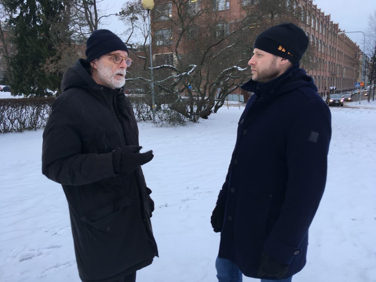 Otto Siippainen ja Aleksi Jäntti