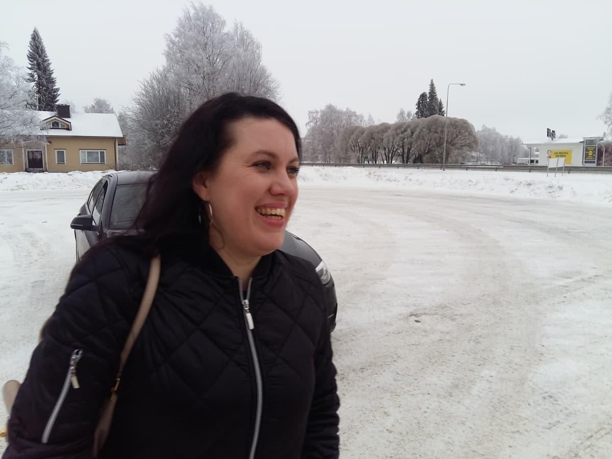Karoliina Tervola Kannuksessa.