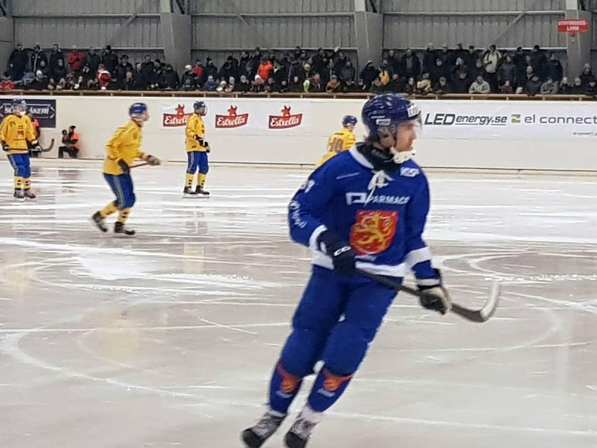 Ruotsi-Suomi, jääpallon MM-kisat 2019