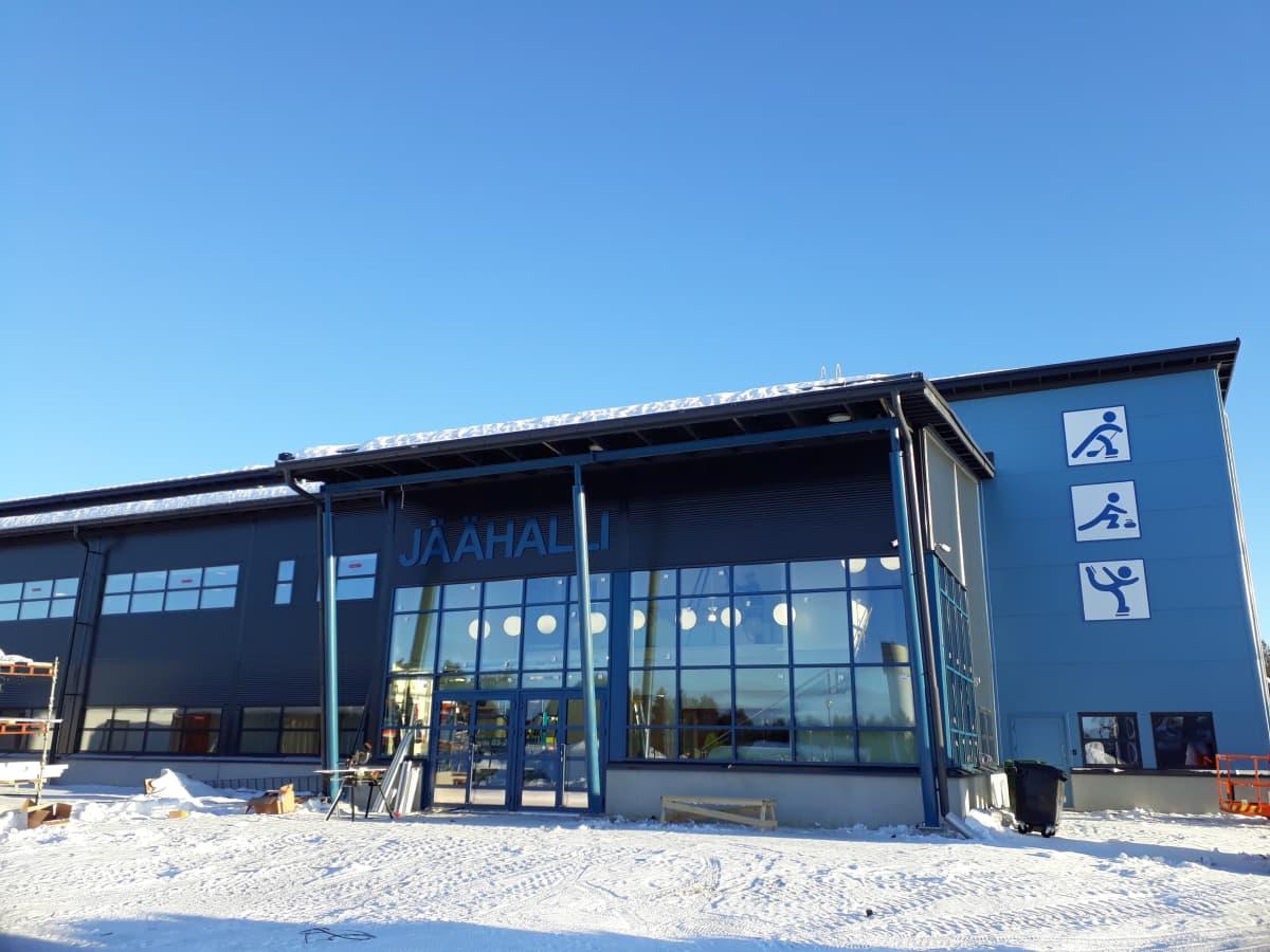 Sodankylä jäähalli
