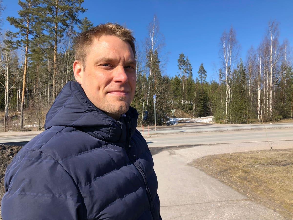 Hämeenmaan kiintiestöjohtaja Ari Järvinen