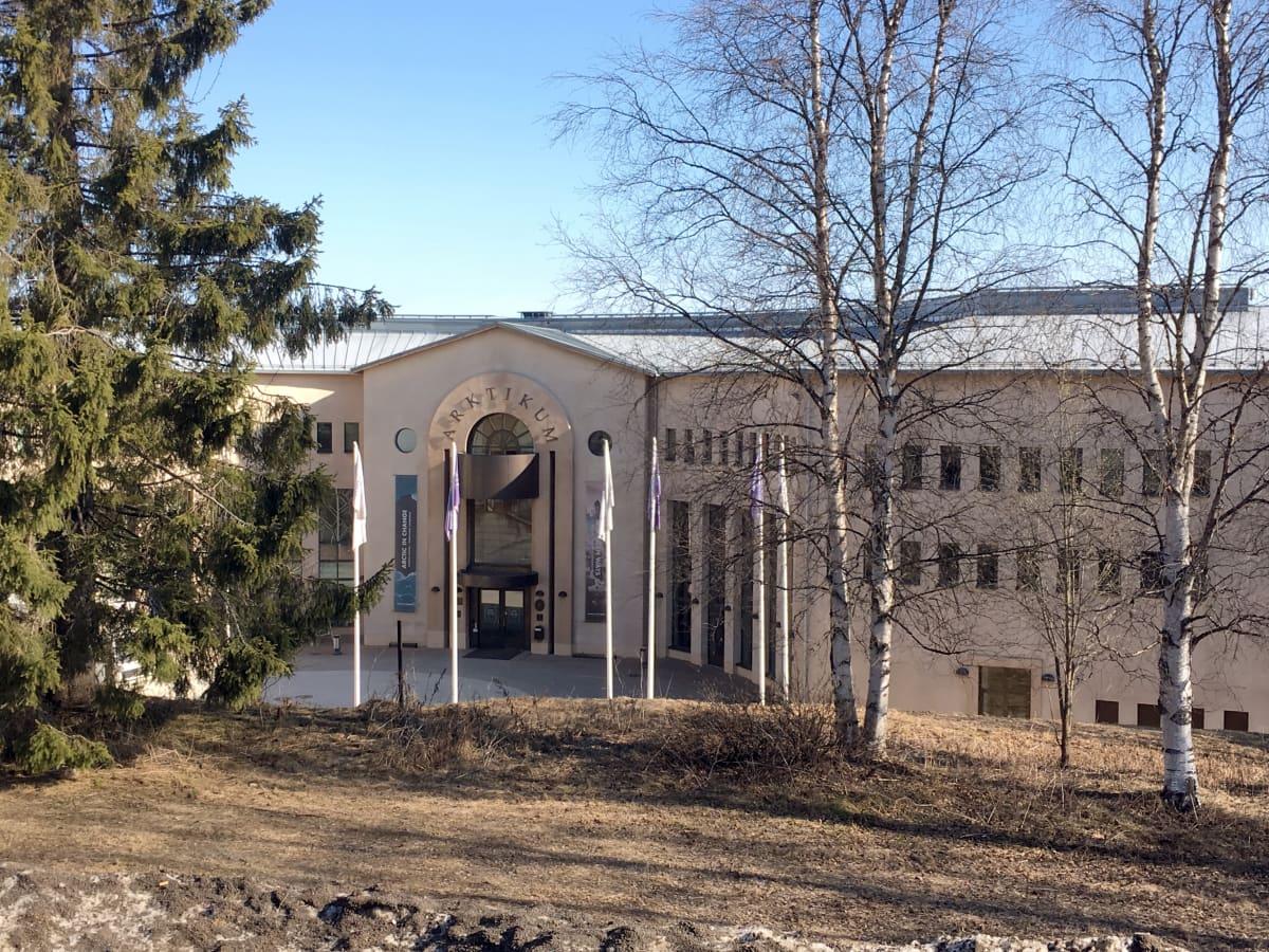 Arktikum on yksi Rovaniemen huippuviikon kokouspaikoista.