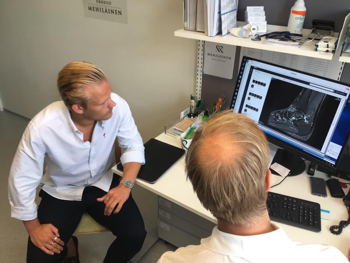 Joel Pohjanpalo ja Mikko Kirjavainen