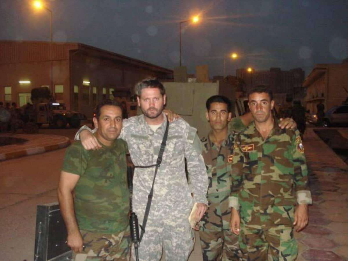 Lähi-idän asiantuntija Michael Pregent on työskennellyt aiemmin myös Irakissa.