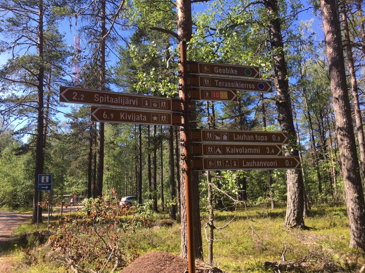 Lauhanvuori−Hämeenkangas Geopark -aluetta esiteltiin UNESCOn Geopark-arvioitsijoille heinäkuun 22.-26. päivä 2019.