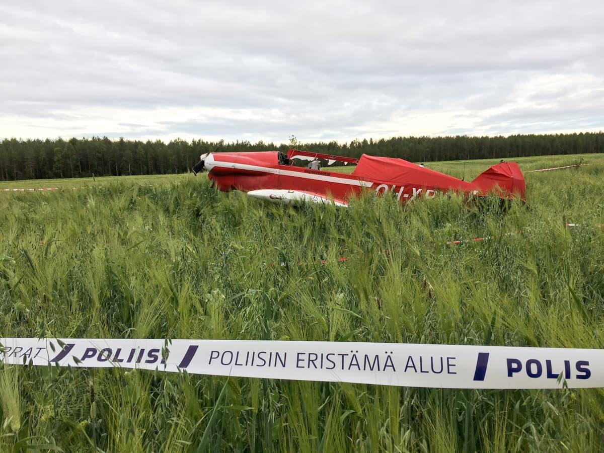 lento-onnettomuus lentoturma pienkone lentokone kajaani vuolijoki kainuu