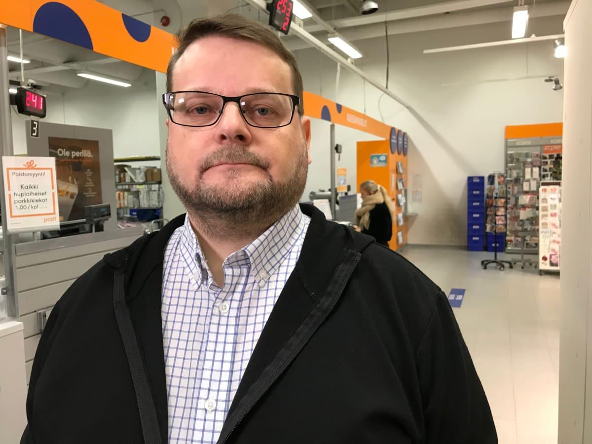 Martti Määttä Postin pääluottamusmies