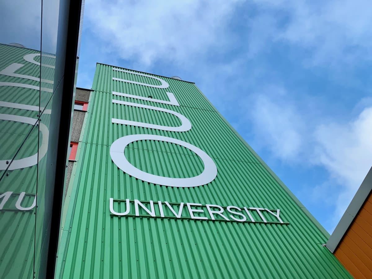 Oulun yliopistossa psykologiaa voi opiskella vain sivuaineena.