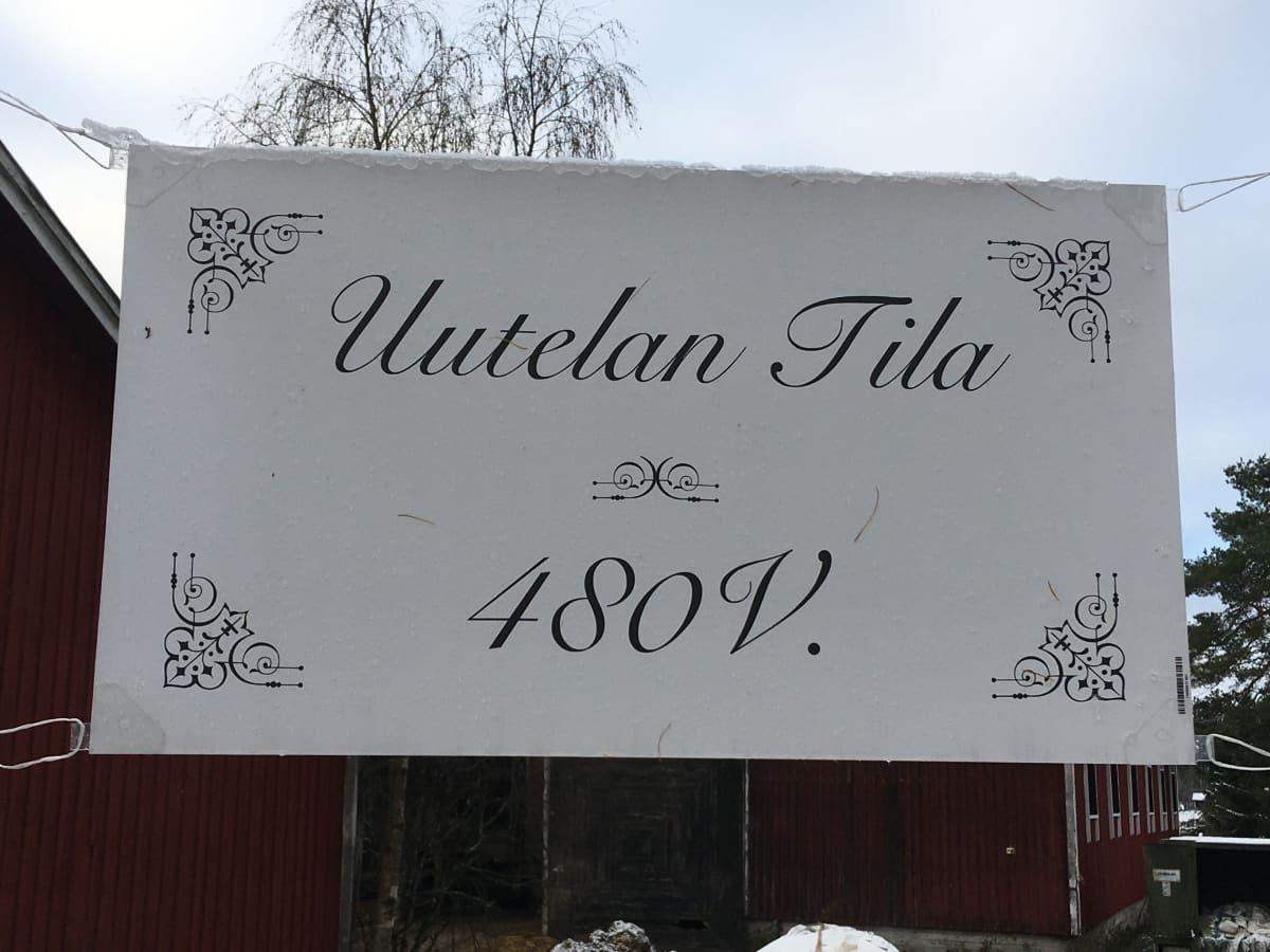 Uutelan tila Kouvolan Ummeljoella on ollut samalla suvulla vähintään 480 vuotta.
