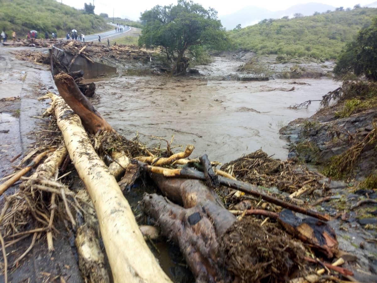 Tansania, tulvat, myrskyt