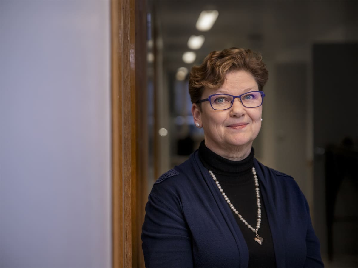 Jyväskylän kaupungin ikääntyneiden palvelujen palvelujohtaja Maarit Raappana.