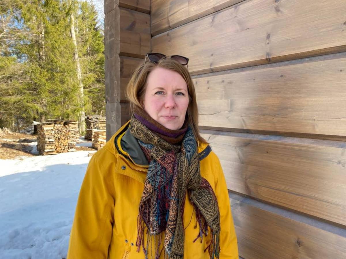 Suonenjoen seudun marjanviljelijäin yhdistyksen toiminnanjohtaja Leena Koponen