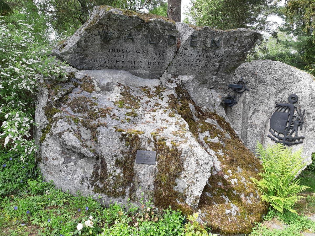 Juuso Waldenin hauta