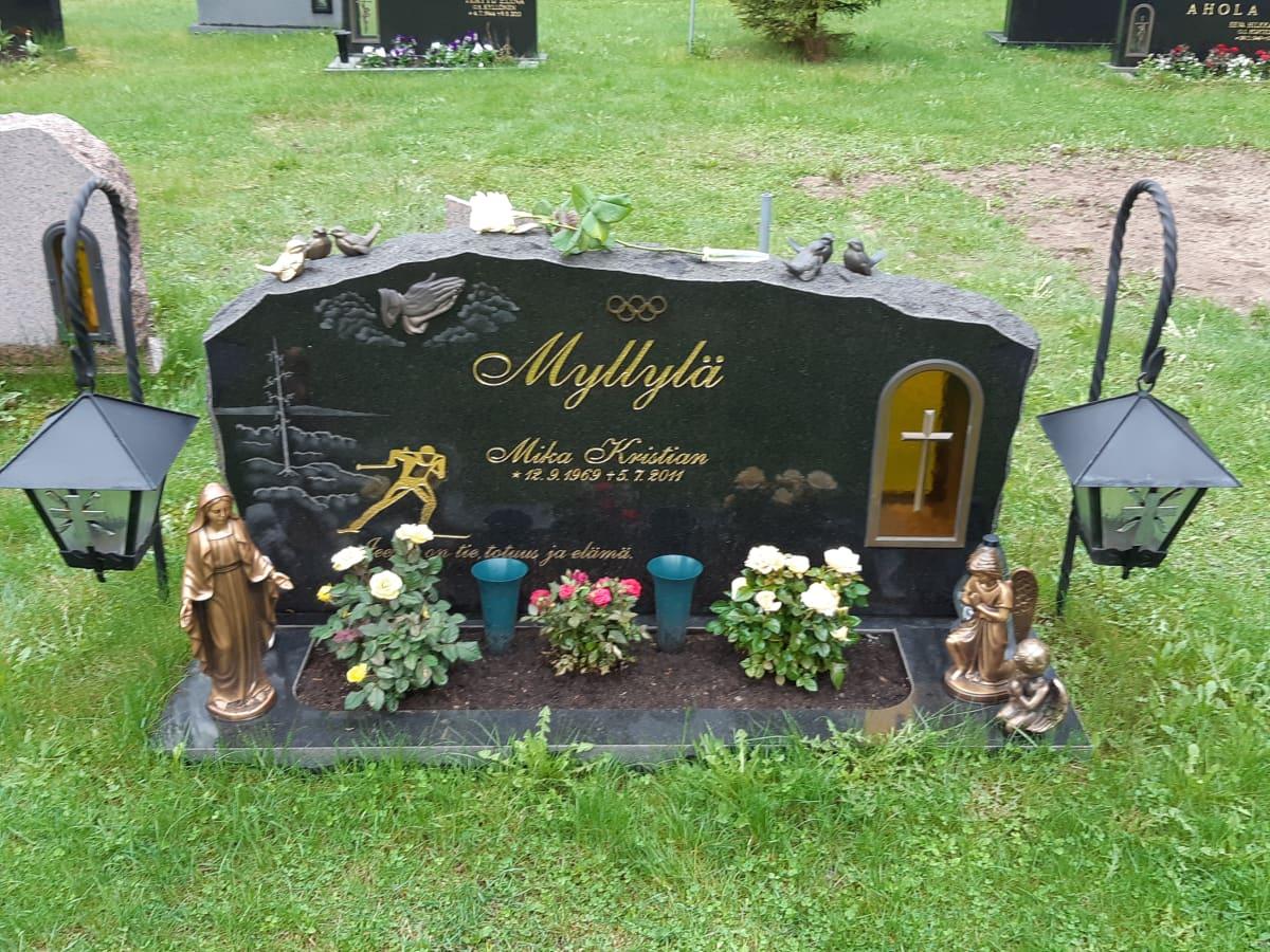 Mika Myllylän hauta