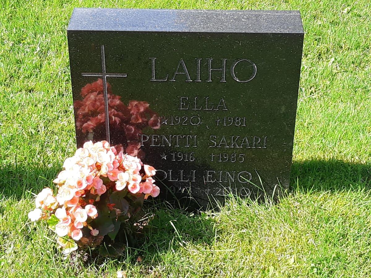 Olli Laihon hauta