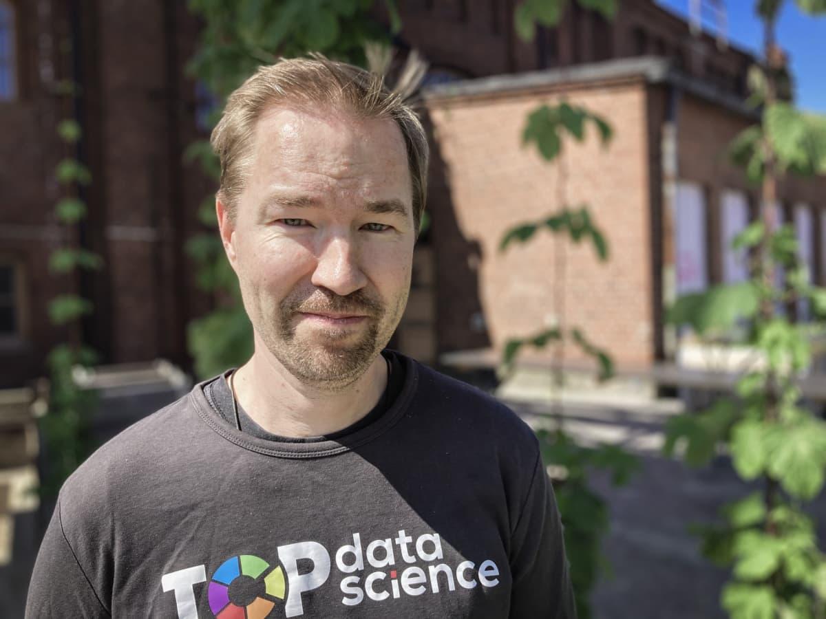 Kuvassa Top Data Sciencen toimitusjohtaja Timo Heikkinen
