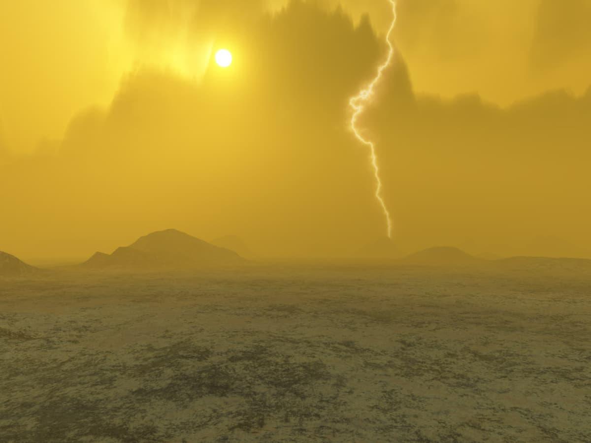 Olosuhteet Venuksen pinnalla ovat hurjat. Sieltä on havaittu salamointia ja tulivuoritoimintaa, mutta elämälle Venuksen rikkihapposateiden piiskaama pinta on liian kuuma paikka – ainakin nykyisin.