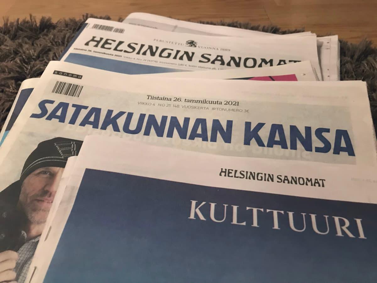 Satakunnan Kansa ja Helsingin Sanomat