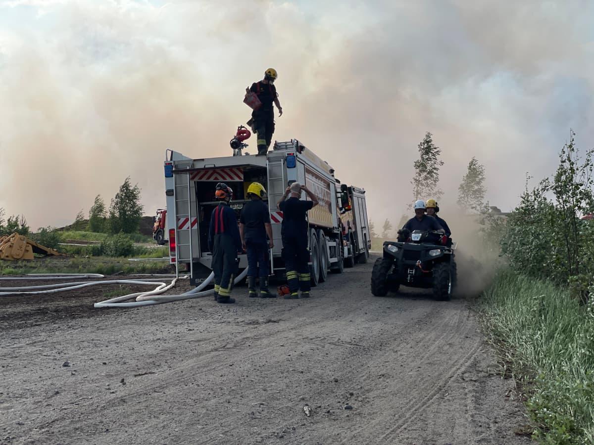 Suonenjoki turvesuonpalo