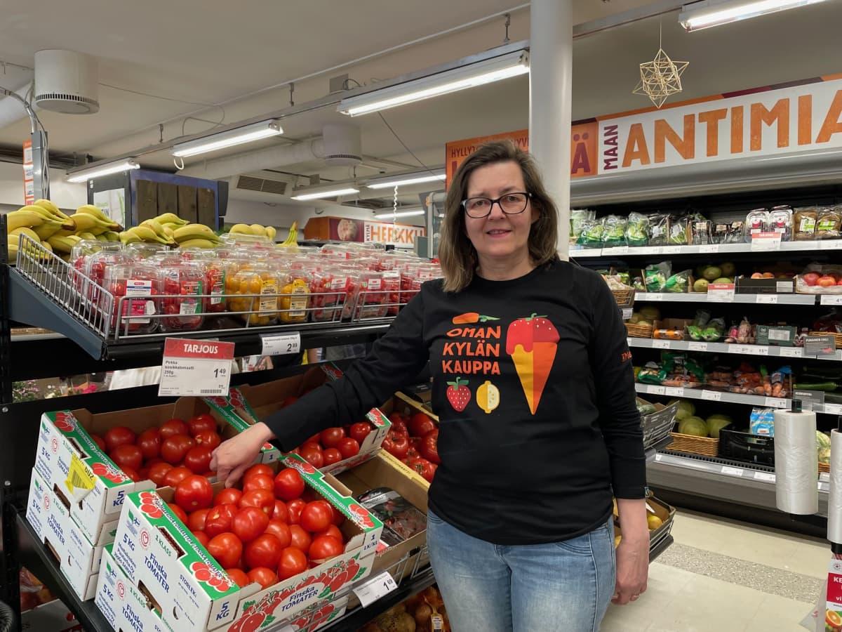 Joensuussa Liike Nytiltä ainoana kaupunginvaltuustoon nousee yrittäjä ja kauppias Sari Huovinen.