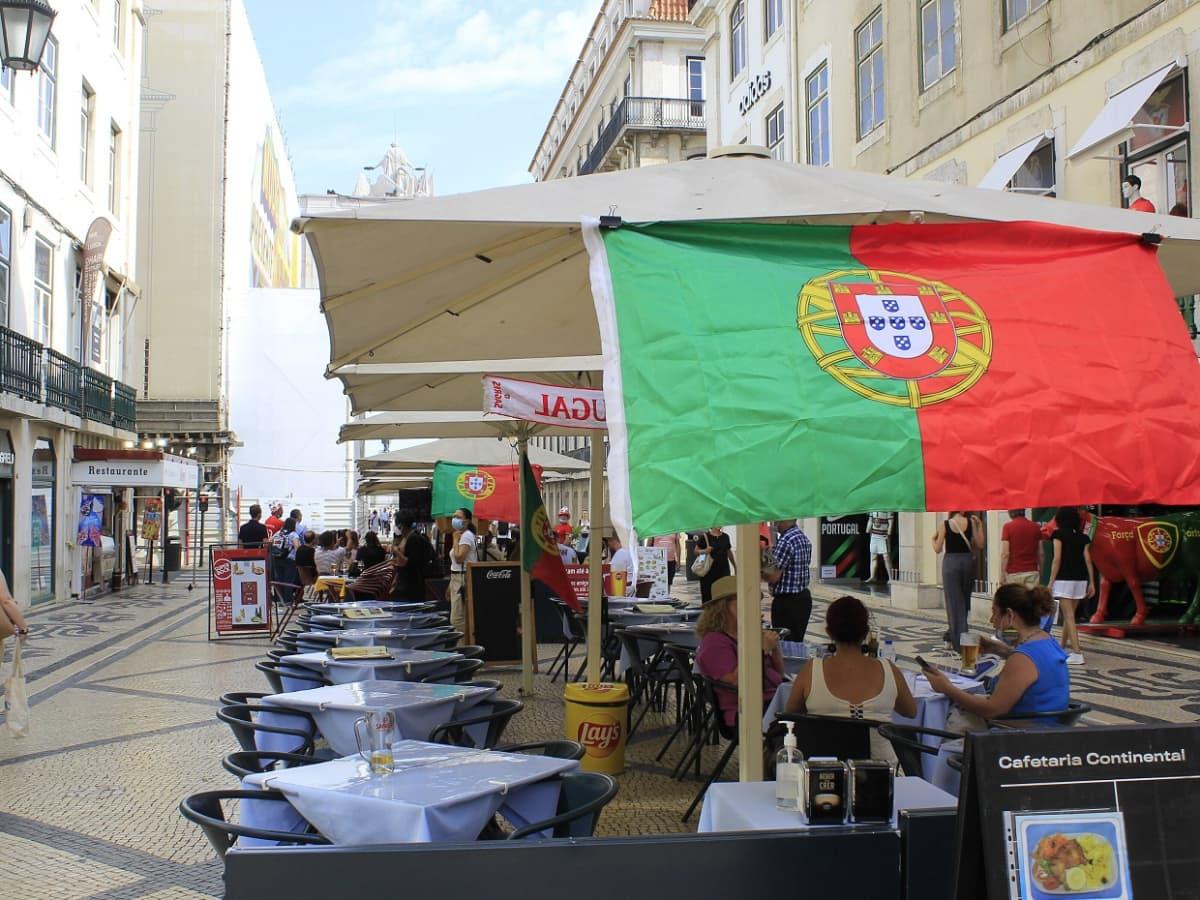 Lissabon kesäkuussa 2021.