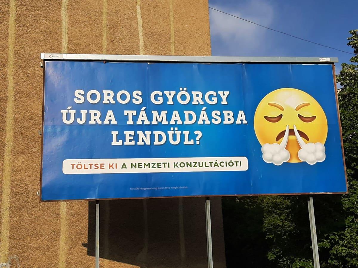 Unkari Orbán mielipidekysely kampanja heinäkuu 2021 - hyökkääkö George Soros uudelleen?