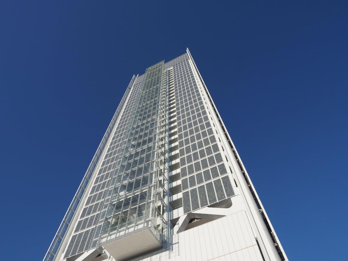 Intensa Sanpaolon pääkonttori Torinossa, pilvenpiirtäjä.