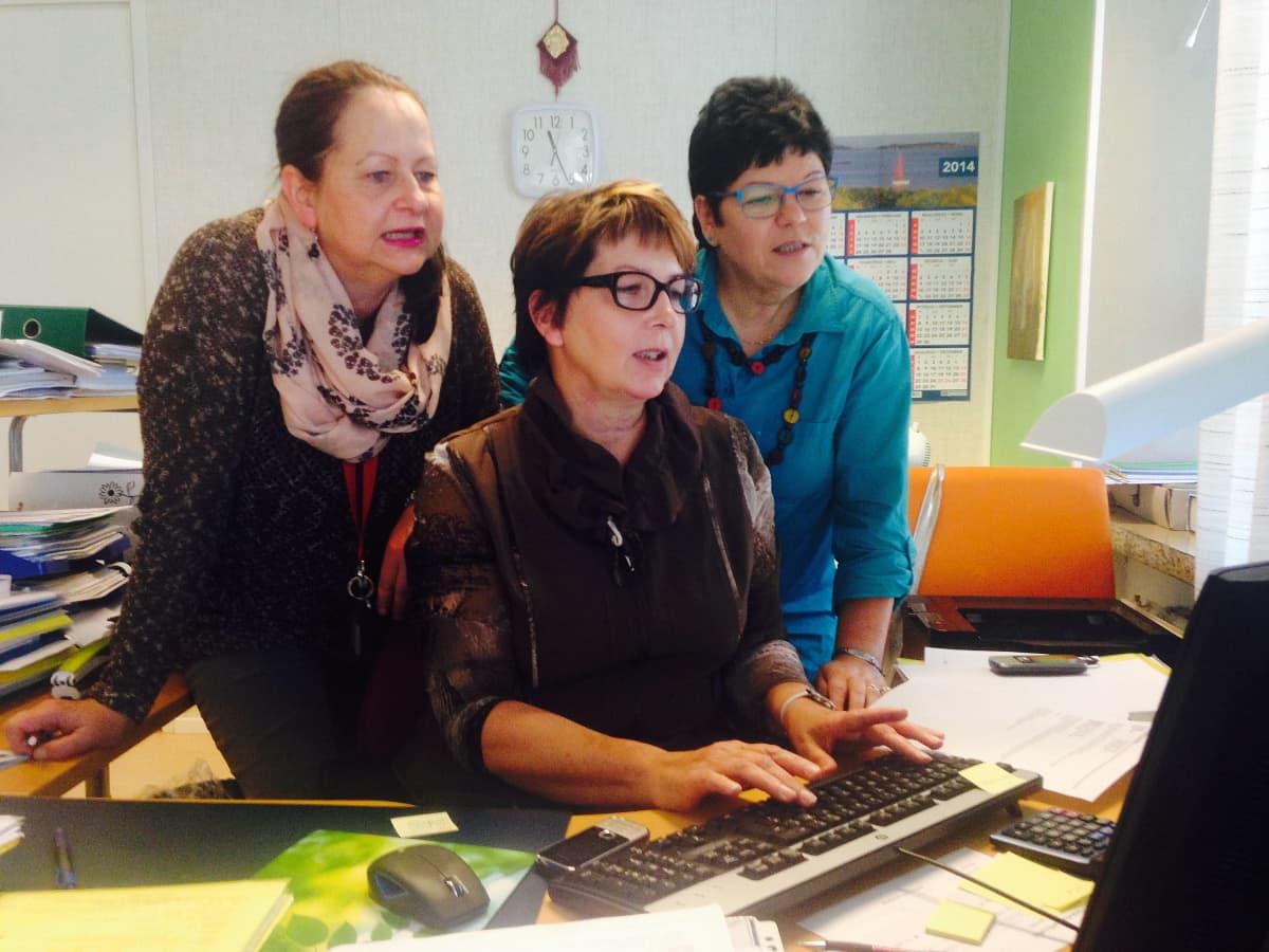 Rovaniemen kaupungin maahanmuuttajatoimistossa hoidetaan pakolaisten muuttoasioita.