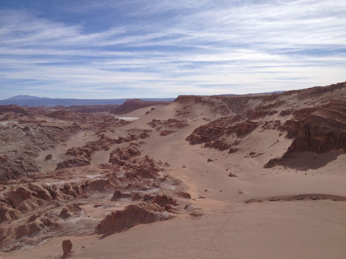 Atacaman hiekkakenttiä