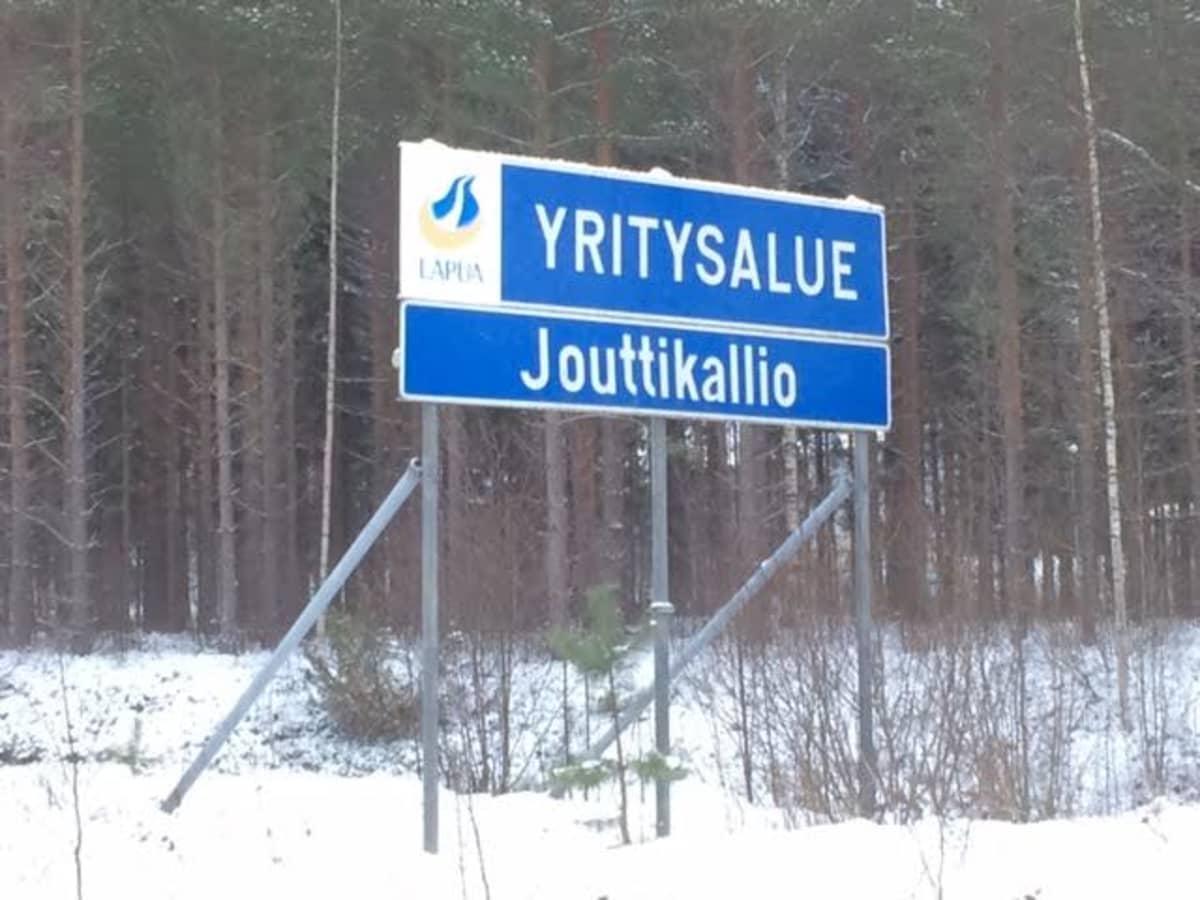 Kyltti Jouttikallio yritysalue Lapua