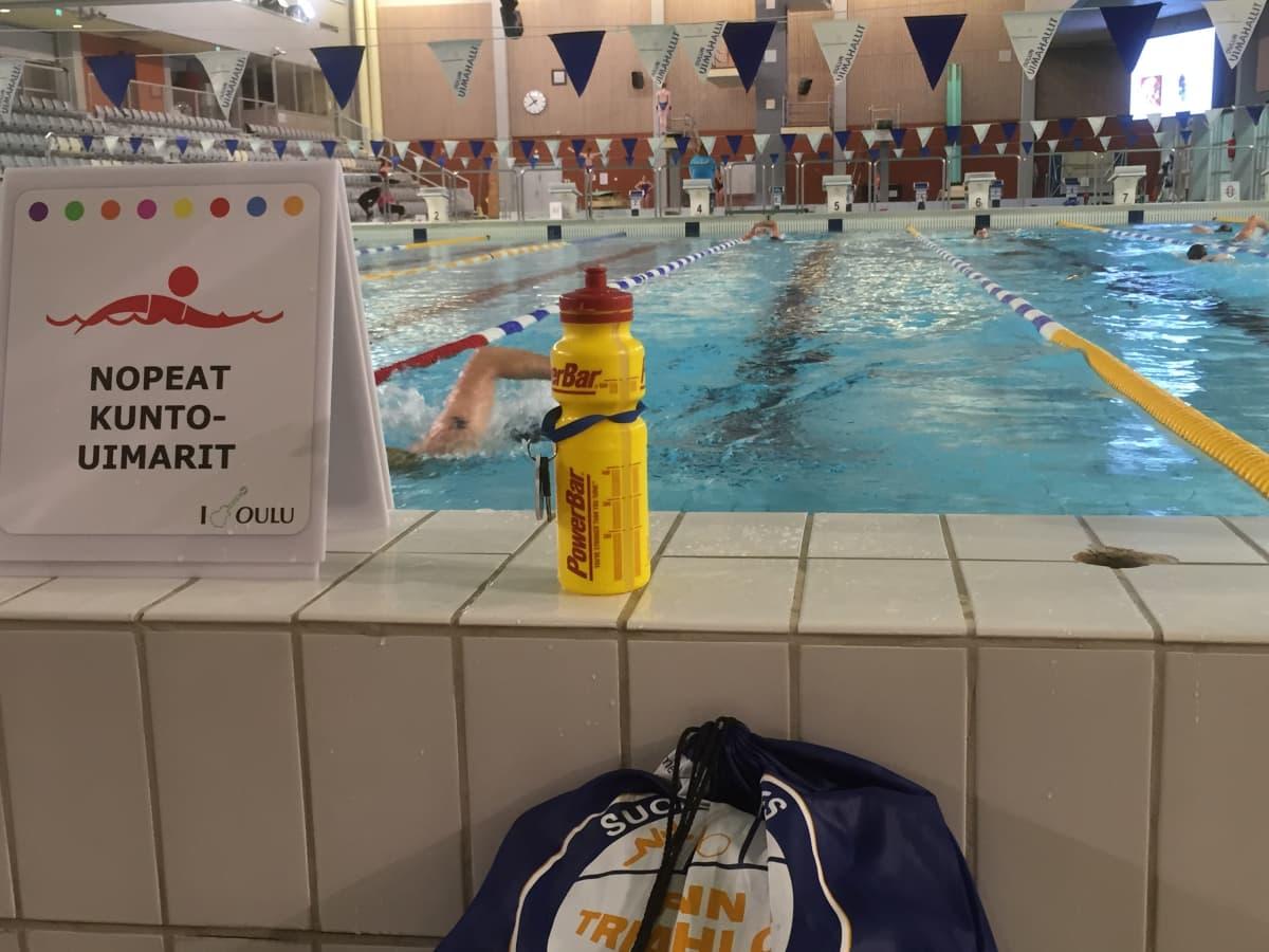 Oulun uimahallin pääallas