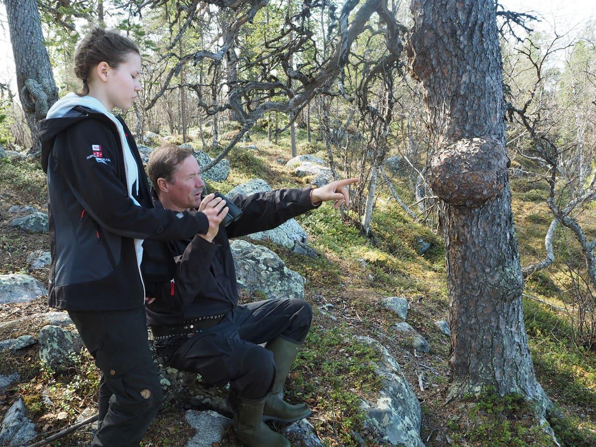 Saara-Kaisa ja Osmo Seurujärvi .