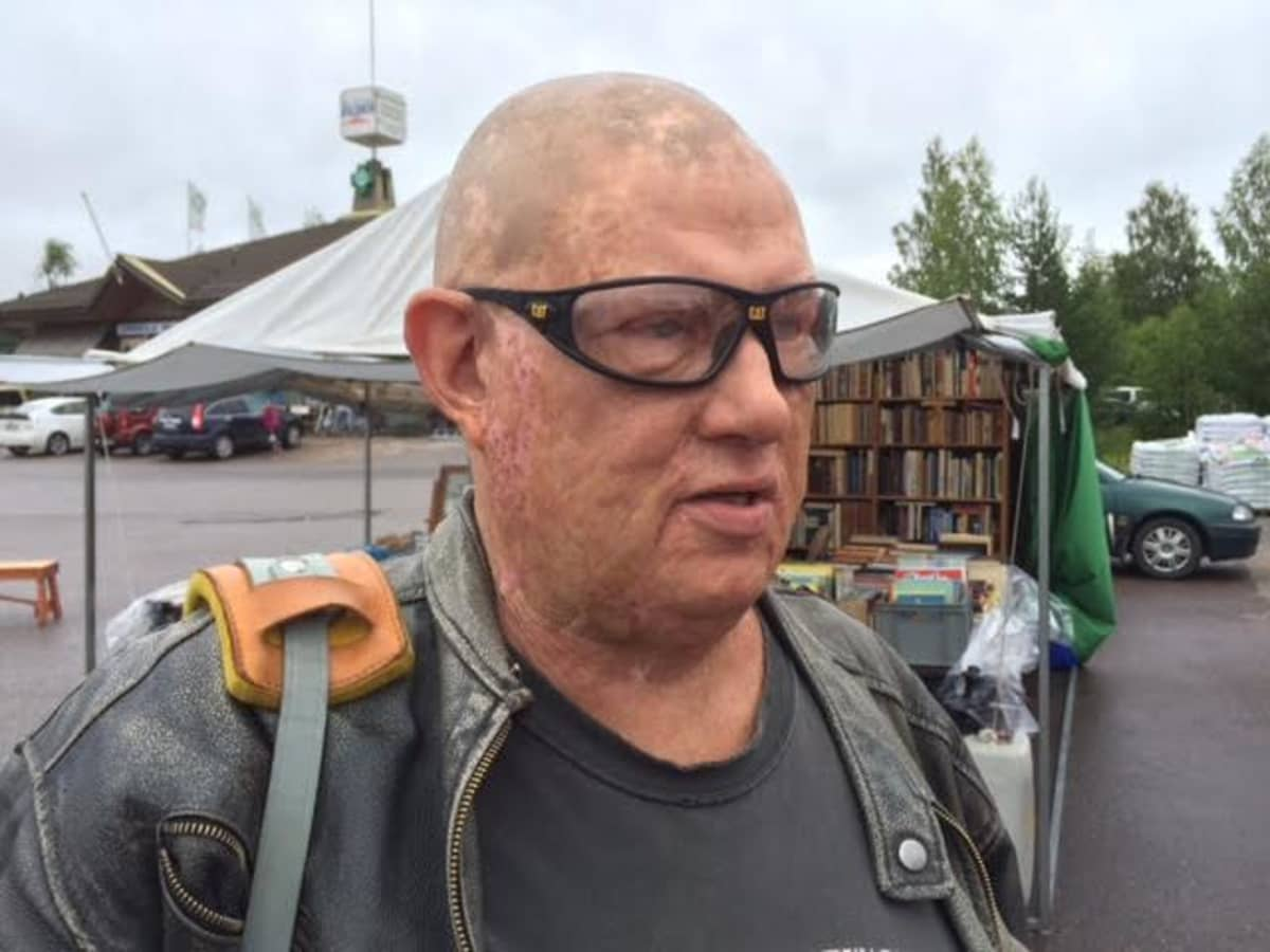 KImmo Oksanen Sysmän Kirjakyläpäivillä 2016.