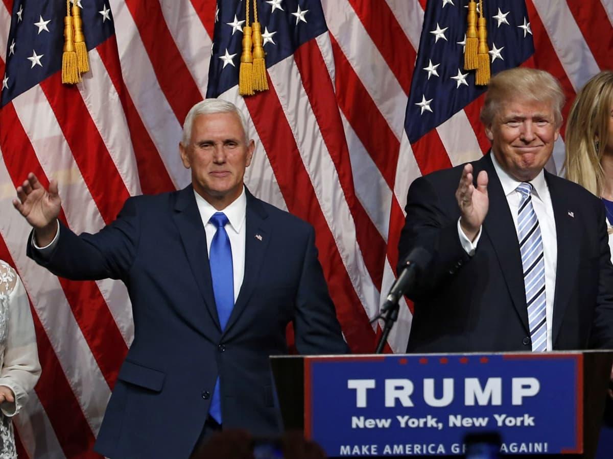 Donald Trump ja Mike Pence