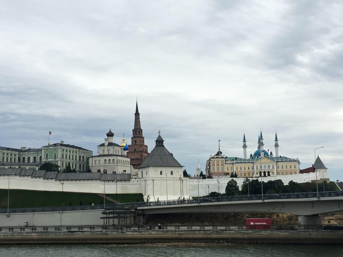 Kazanin kaupunkilinnoitus.