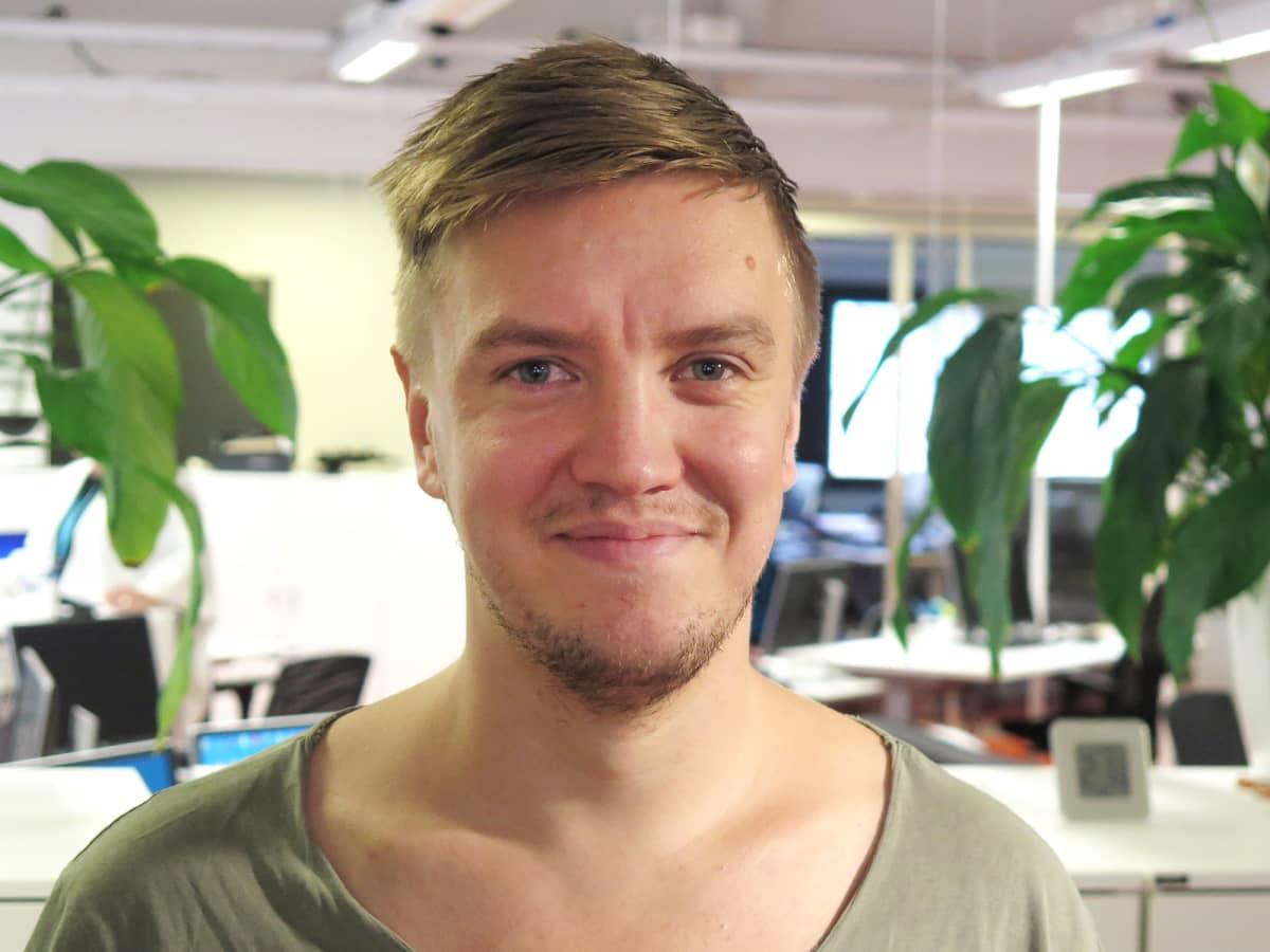 Projekti-insinööri Antti Haukka Tampereen kaupunki