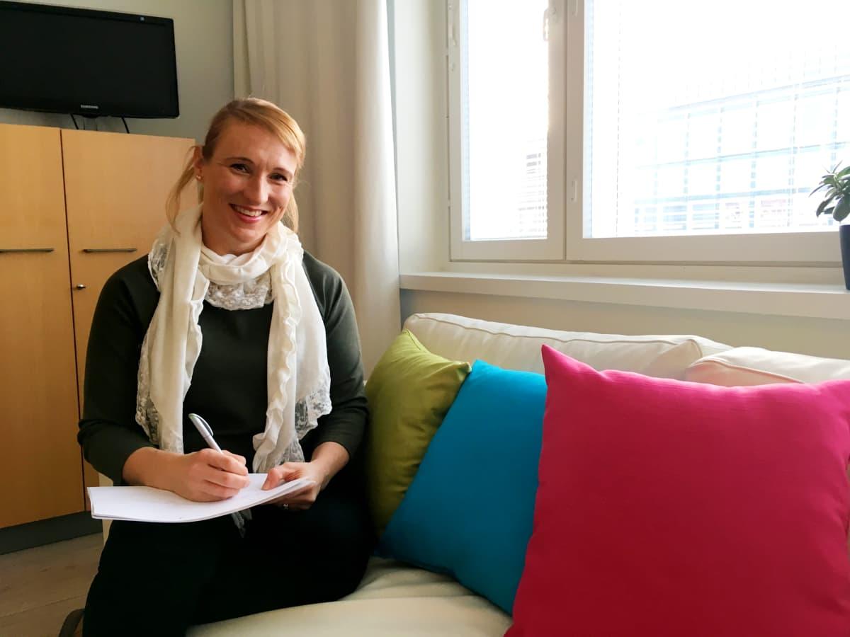 Organisaatiovalmentaja Mirjami Kirjonen