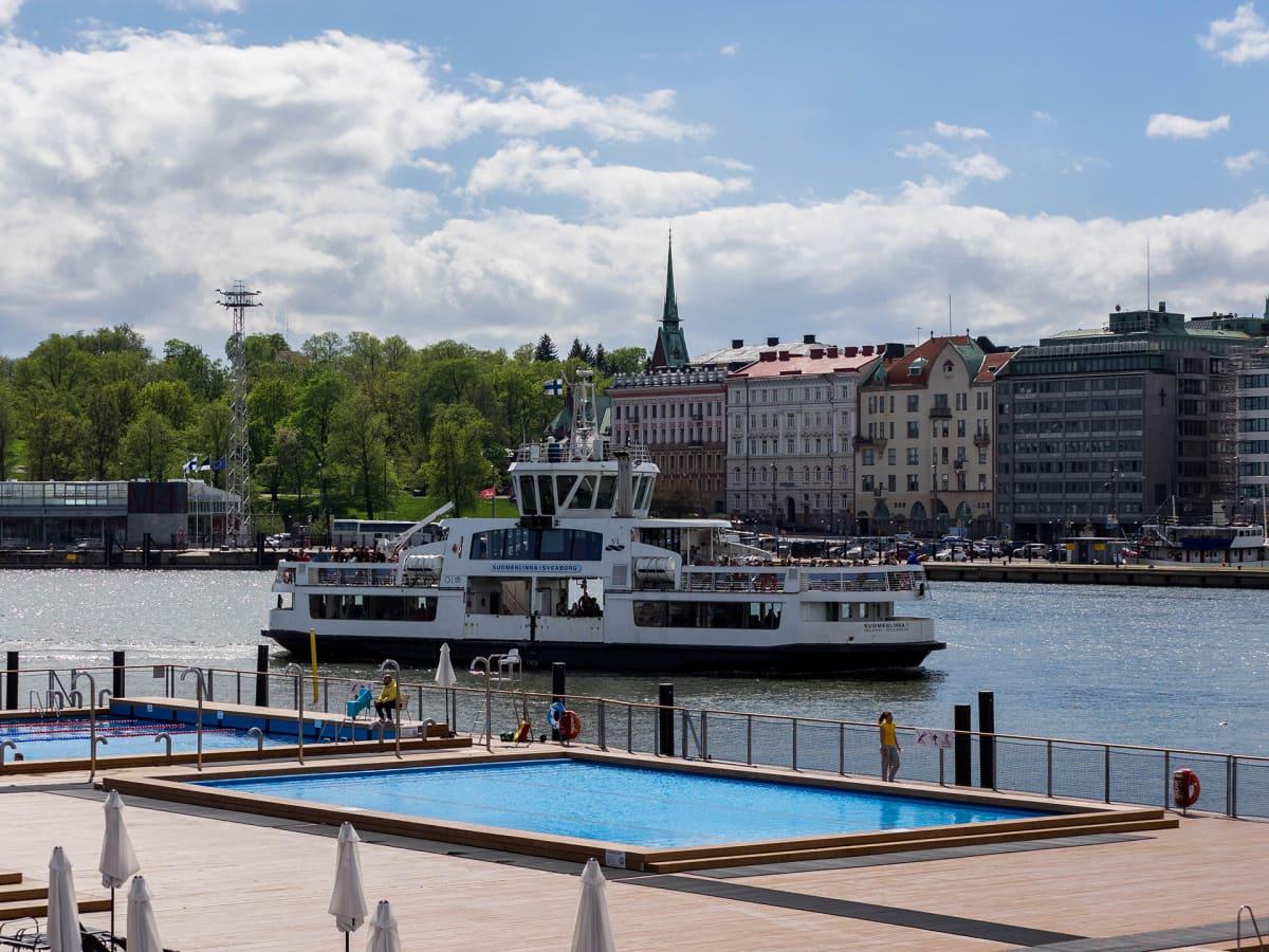 Allas Sea Pool on merikylpylä Helsingin Katajanokalla.
