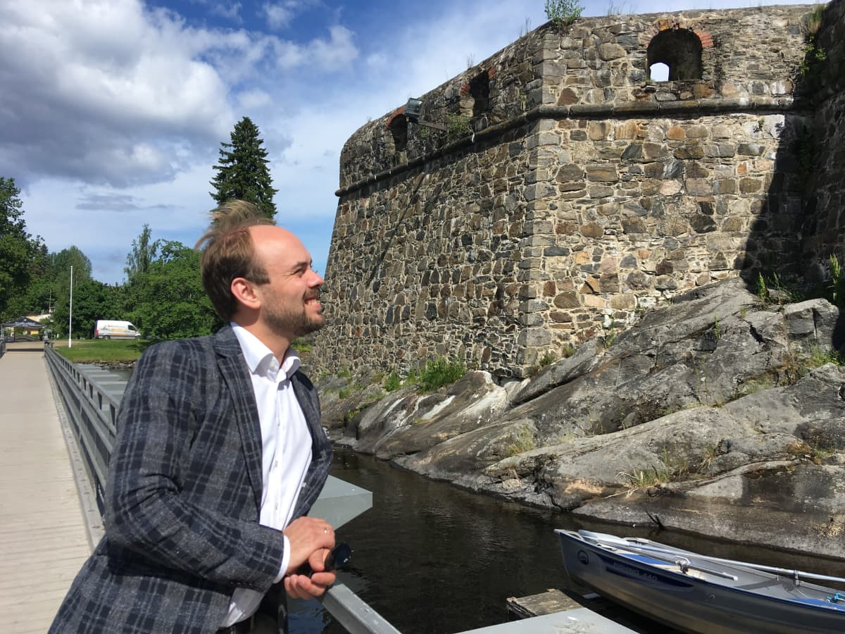 Savonlinnan Oopperajuhlien uusi taiteellinen johtaja Ville Matvejeff.