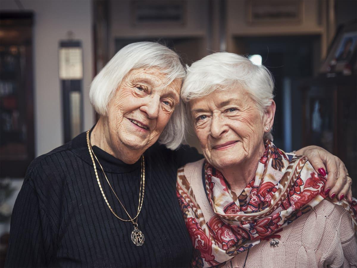Nina Hackman ja Leena Laitinen