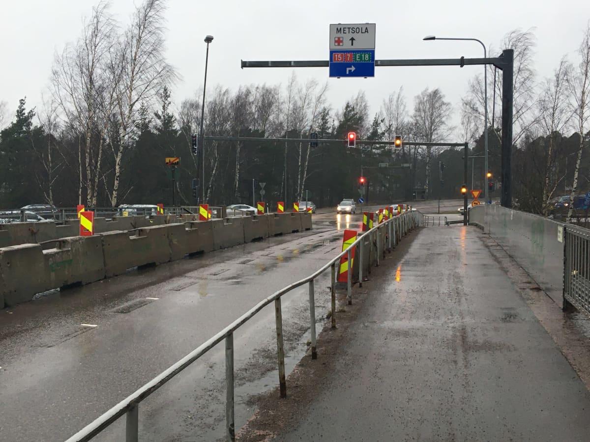 Paimenportin silta Kotkassa