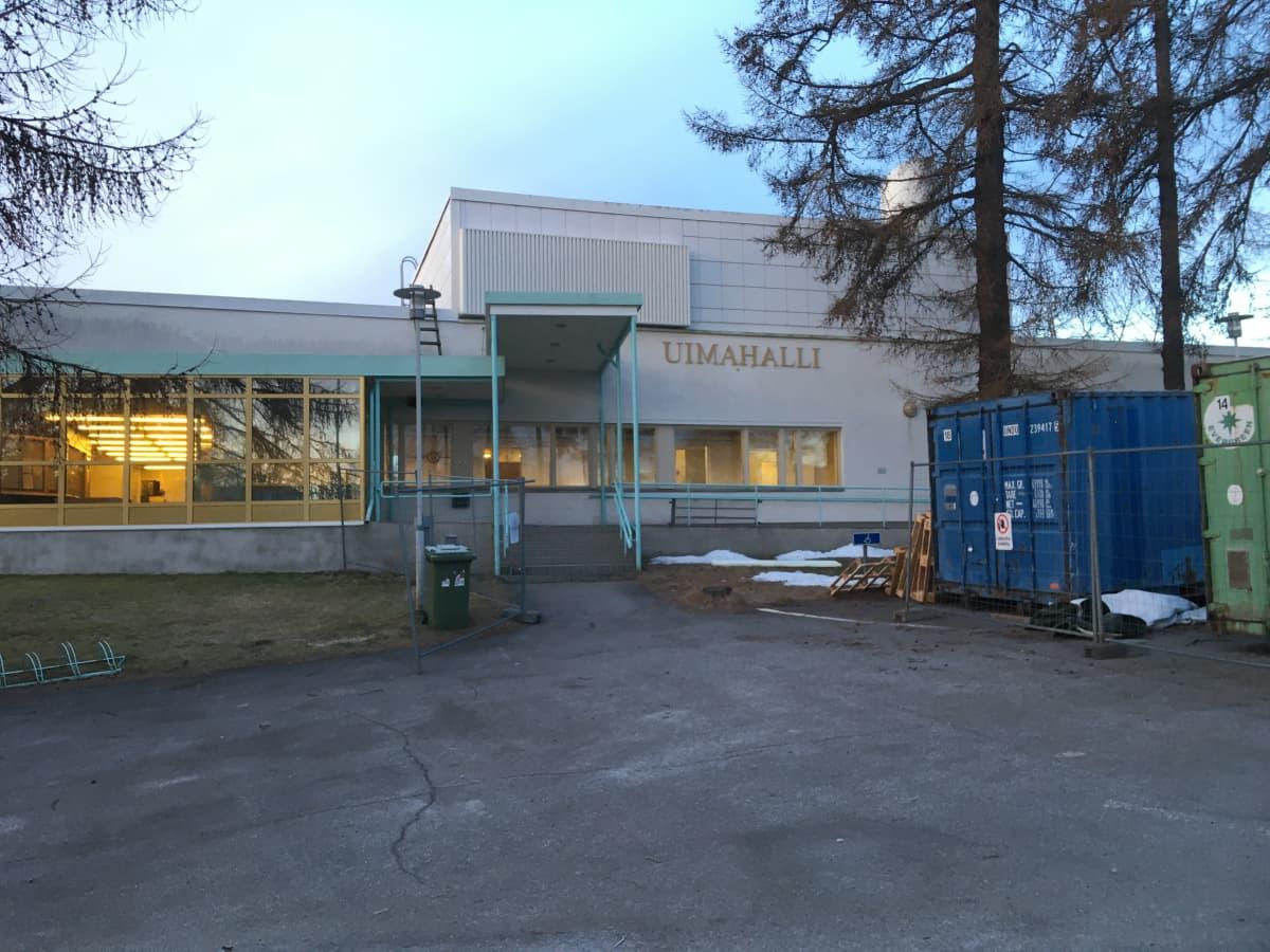 Savonlinnan uimahalli Pikku-Saimaa